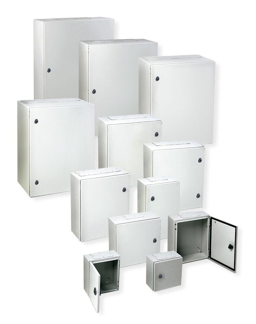 Ide armarios met licos de fijaci n mural ip66 - Armarios metalicos para exterior ...
