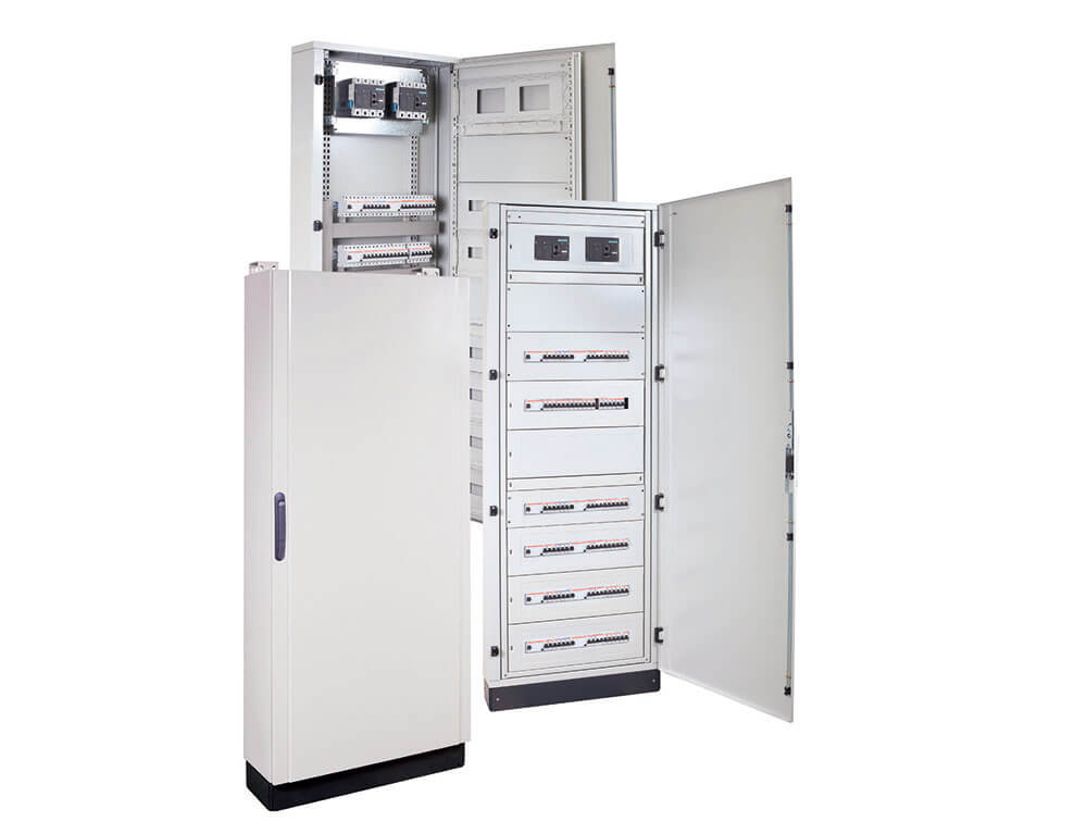 IP40 IP55 Steel Distribution Cabinets (192 288 Modules)