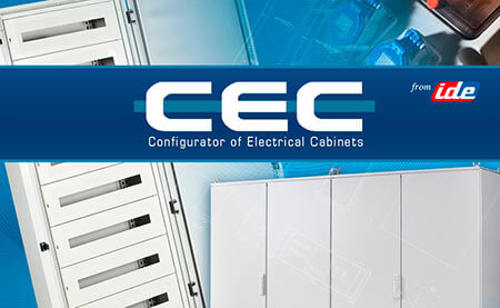 Calculation program of electrical panels CEC